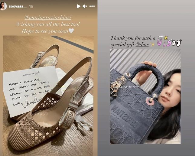 """Đọ quà tặng Dior gửi tới hai """"nàng thơ"""" Suzy và Jisoo BLACKPINK: Ai nhận được đồ """"xịn"""" hơn? ảnh 6"""