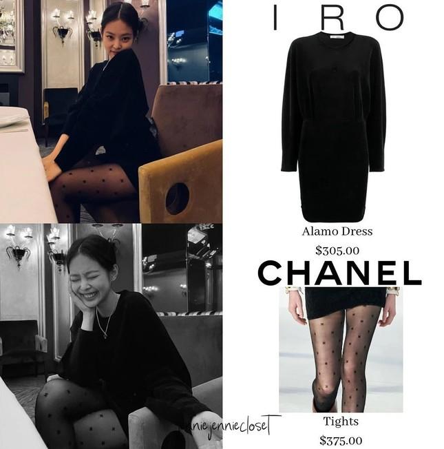Diện quần tất Chanel gần 10 triệu đụng hàng Jennie nhưng Ngọc Trinh vẫn có cách chiếm spotlight ảnh 5