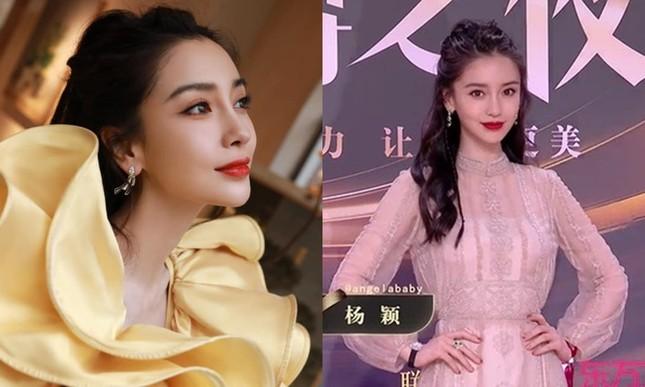 Đến hẹn lại lên, thảm đỏ Weibo trở thành nơi netizen soi nhan sắc thực của sao nữ C-Biz ảnh 2