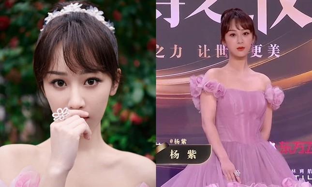 Đến hẹn lại lên, thảm đỏ Weibo trở thành nơi netizen soi nhan sắc thực của sao nữ C-Biz ảnh 8