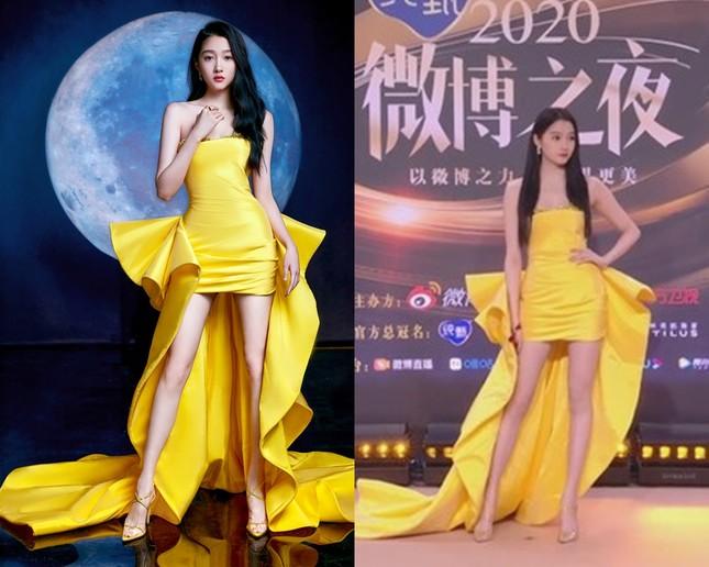 Đến hẹn lại lên, thảm đỏ Weibo trở thành nơi netizen soi nhan sắc thực của sao nữ C-Biz ảnh 1