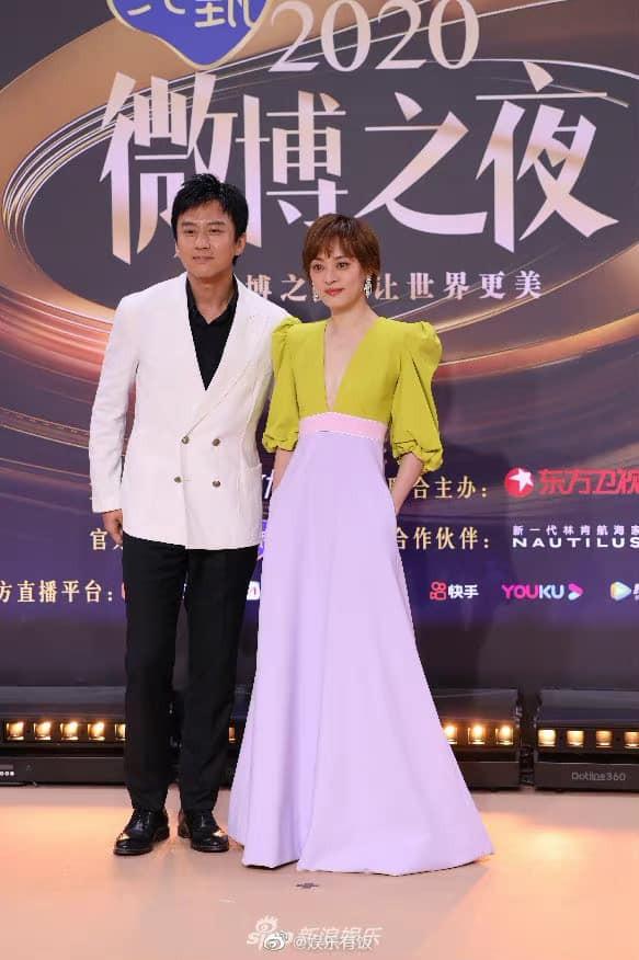 Màu vàng lên ngôi tại Đêm hội Weibo: Do vô tình đụng hàng hay là xu hướng mới? ảnh 8