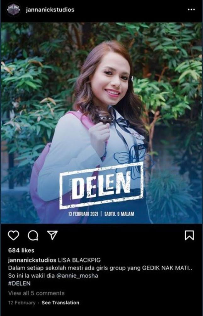 Một ngôi sao của Malaysia bị BLINKs phản ứng dữ dội vì chế giễu Lisa (BLACKPINK) cực kém duyên ảnh 1