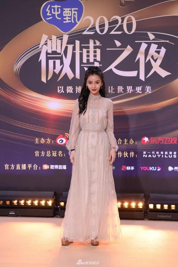 Đại chiến nhan sắc trên thảm đỏ Đêm hội Weibo 2020: Triệu Lệ Dĩnh, Angela Baby phải chịu thua đàn em ảnh 5