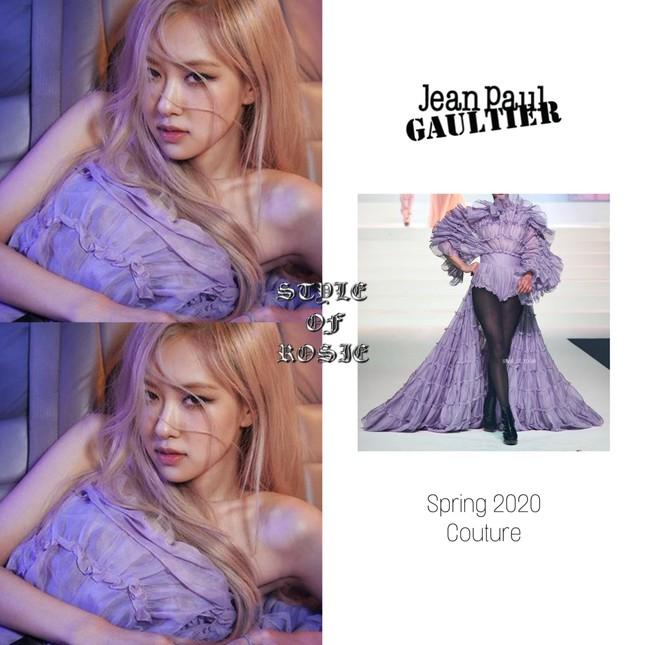 Bái phục stylist của BLACKPINK: Chẳng ngại chỉnh sửa cả váy Haute Couture cho Rosé diện ảnh 2