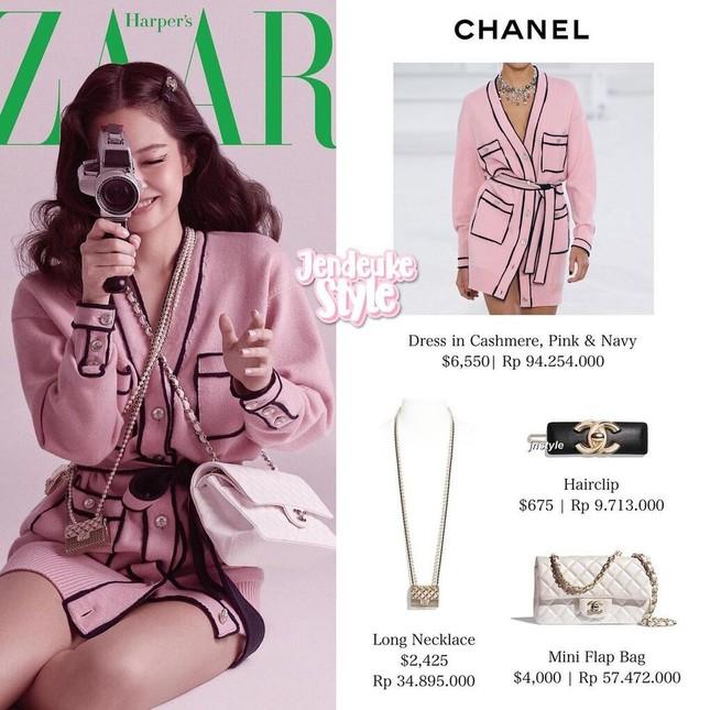 Ngọc Trinh chơi lớn sắm hẳn hai vòng cổ Chanel khiến dân mạng liên tưởng tới Jennie ảnh 5