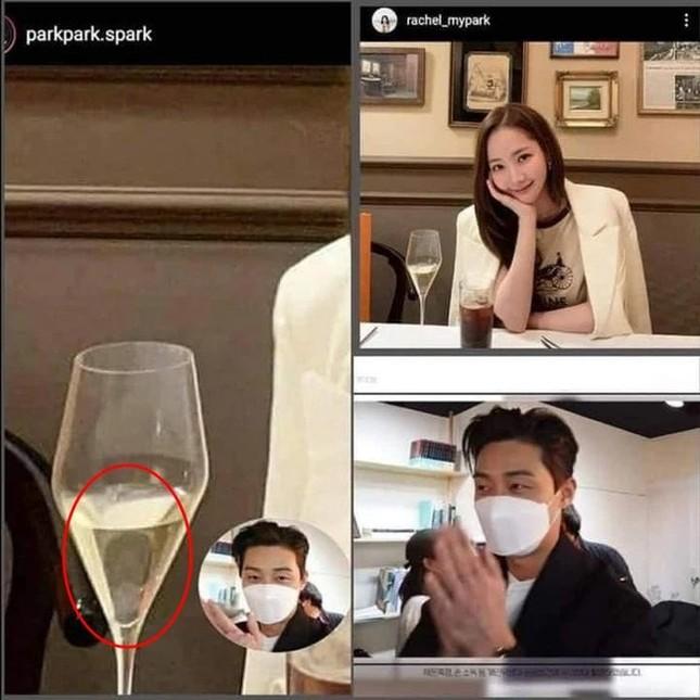 Có lẽ nào Park Min Young sơ sểnh tới mức làm lộ bằng chứng hẹn hò Park Seo Joon? ảnh 3
