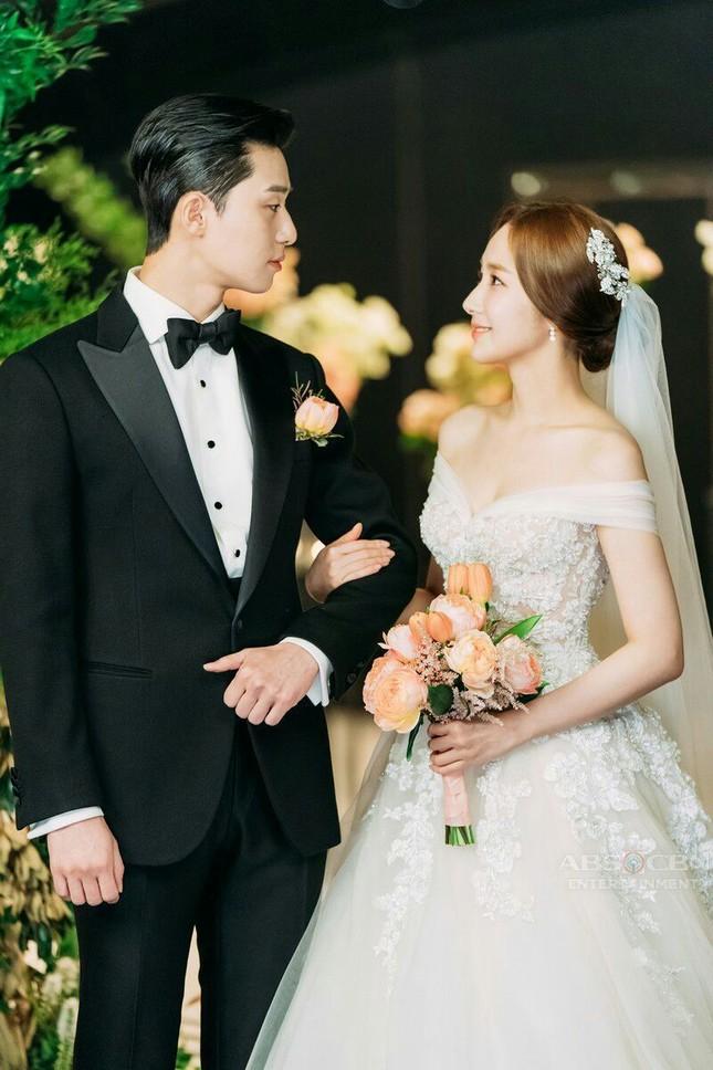 Có lẽ nào Park Min Young sơ sểnh tới mức làm lộ bằng chứng hẹn hò Park Seo Joon? ảnh 2