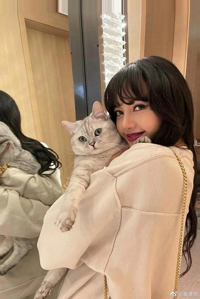 Đội tóc giả chụp selfie, Địch Lệ Nhiệt Ba không ngờ bị netizen nhận nhầm thành Lisa ảnh 4