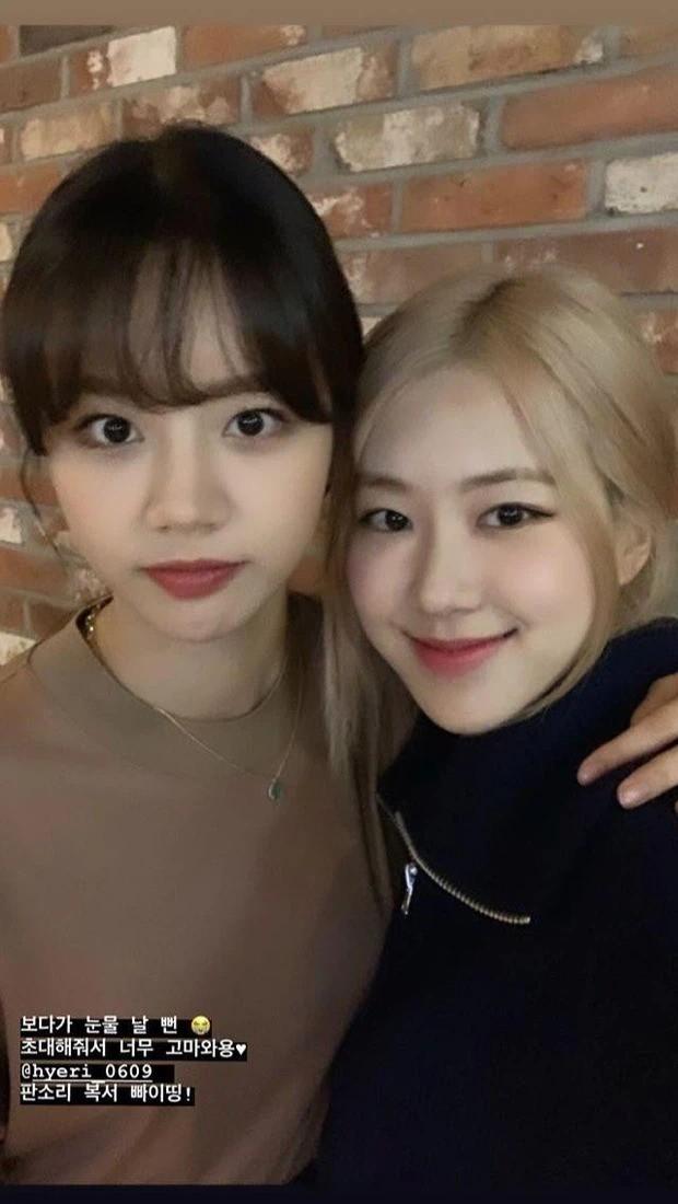 Lý do khiến Rosé và Hyeri (Girl's Day) thân thiết có liên quan đến hoàn cảnh gia đình? ảnh 2