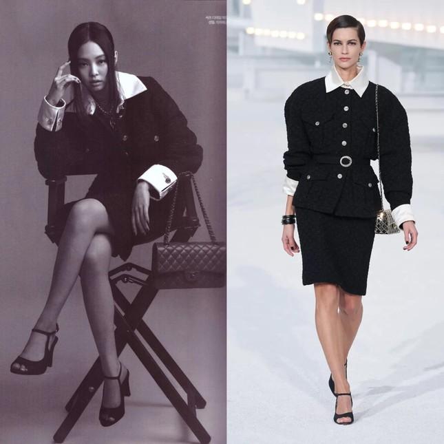 """Không hổ danh """"búp bê Chanel sống"""", Jennie được khen mặc đẹp hơn cả người mẫu của hãng ảnh 6"""
