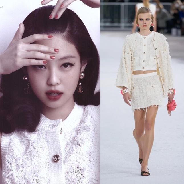"""Không hổ danh """"búp bê Chanel sống"""", Jennie được khen mặc đẹp hơn cả người mẫu của hãng ảnh 5"""