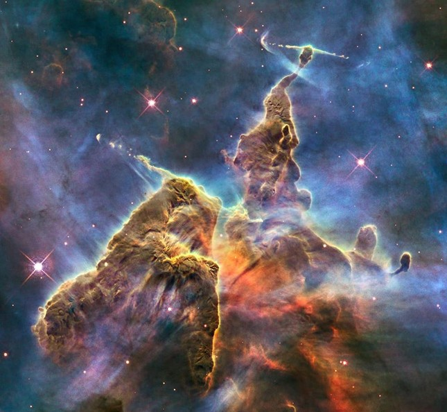 """Xem ảnh chụp vũ trụ trong ngày sinh: Người đẹp lung linh, người nhận hình """"thật ba chấm"""" ảnh 4"""