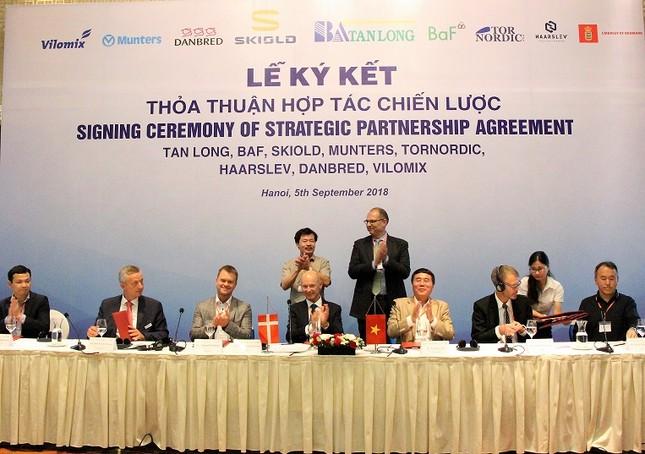 Hợp tác với Đan Mạch, Việt Nam sẽ vươn lên cường quốc chăn nuôi lợn ảnh 1