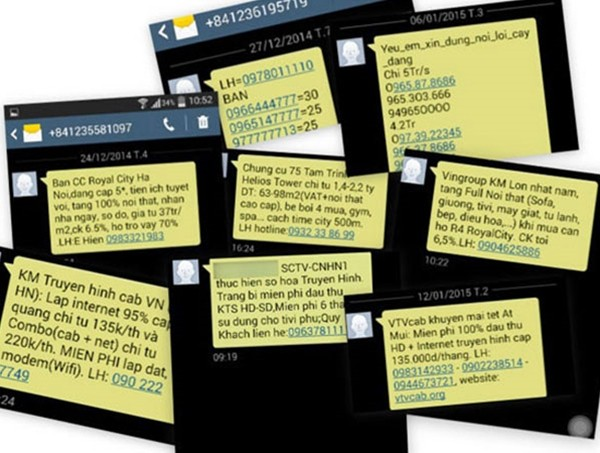 Việt Nam sẽ có danh sách số điện thoại 'tự lọc' tin nhắn rác? ảnh 1
