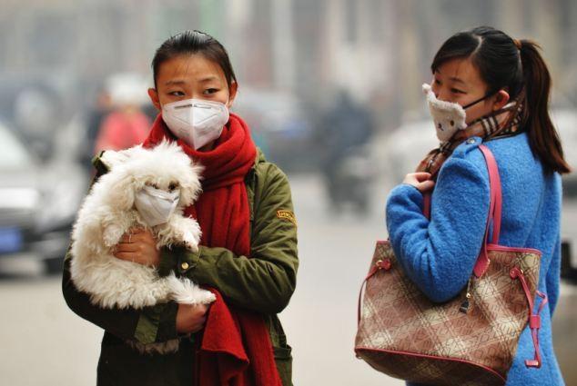 Trung Quốc dùng máy bay không người lái làm sạch ô nhiễm ảnh 2