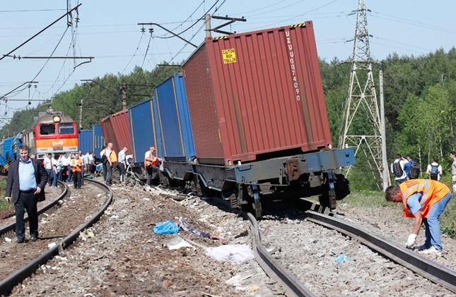 Nga: Tàu hỏa đâm nhau, hơn 50 người thương vong ảnh 3
