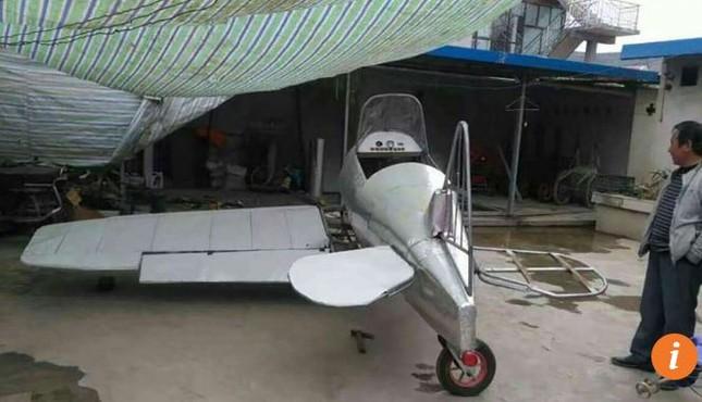Nông dân Trung Quốc chế tạo máy bay từ phế liệu ảnh 1