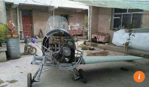 Nông dân Trung Quốc chế tạo máy bay từ phế liệu ảnh 2