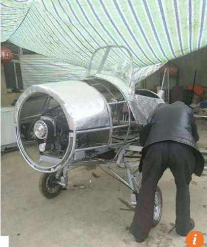 Nông dân Trung Quốc chế tạo máy bay từ phế liệu ảnh 5