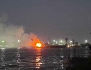 Cháy tàu chở xăng dầu, 3 người tử vong ảnh 1