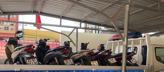 Nhờ định vị phát hiện nhiều xe máy trộm cắp trong nhà đối tượng mới ra tù ảnh 3