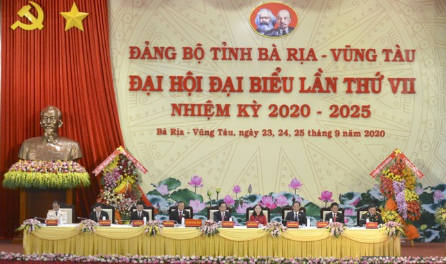 Bí thư Trung ương Đảng Nguyễn Hòa Bình dự Đại hội Đảng bộ Bà Rịa -Vũng Tàu ảnh 3