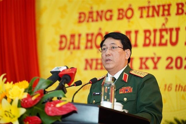 Đại tướng Lương Cường chỉ đạo Đại hội Đảng bộ Bình Thuận ảnh 2