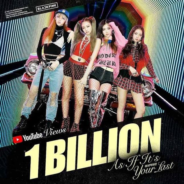 """""""As If It's Your Last"""" đưa BLACKPINK trở thành nhóm nhạc K-Pop có nhiều MV tỉ view nhất ảnh 1"""
