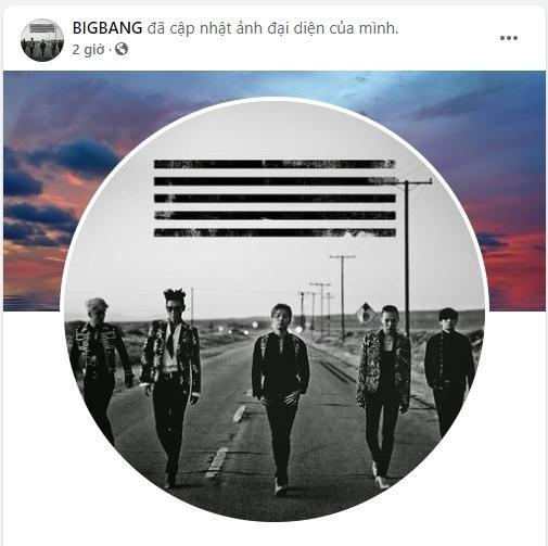 """BIG BANG cập nhật avatar 5 thành viên, """"ông hoàng K-Pop"""" sắp trở lại? ảnh 1"""