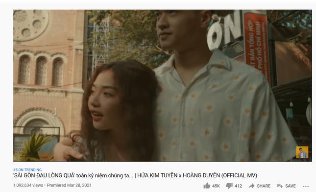 """""""Sài Gòn Đau Lòng Quá"""" đạt Top 5 Trending, Hứa Kim Tuyền phản pháo nghi vấn đạo nhạc ảnh 1"""