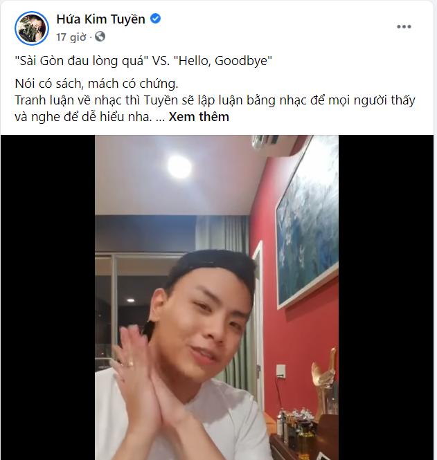 """""""Sài Gòn Đau Lòng Quá"""" đạt Top 5 Trending, Hứa Kim Tuyền phản pháo nghi vấn đạo nhạc ảnh 3"""