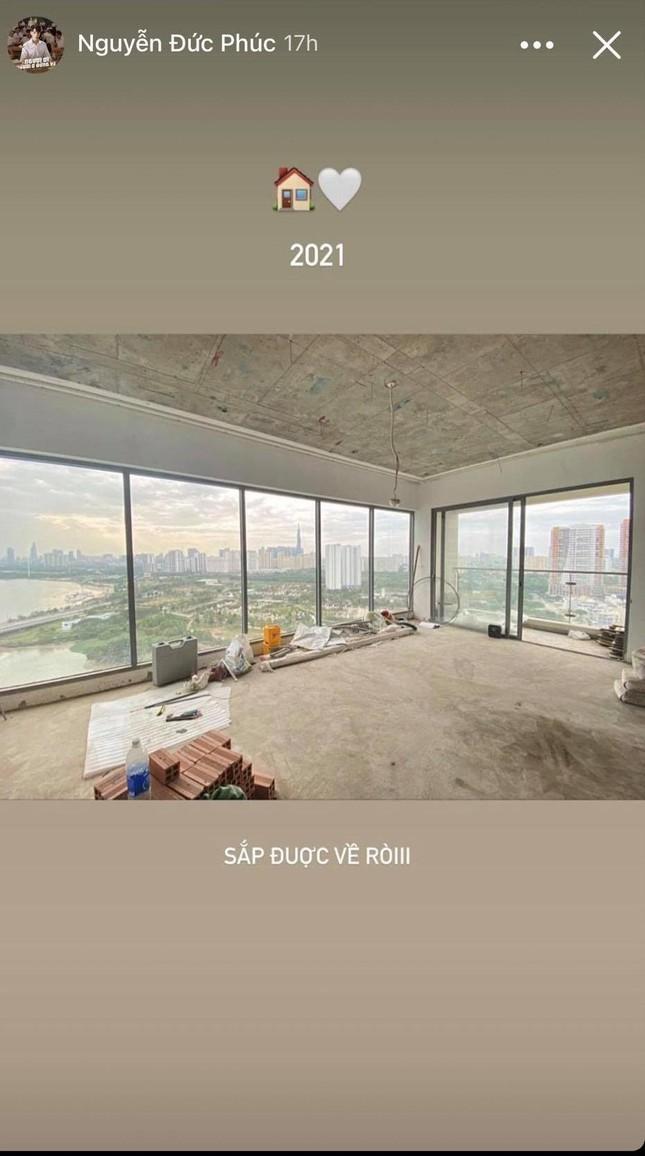 """Đức Phúc mua nhà mới, khoe """"view triệu đô"""" nhìn thẳng ra sông Sài Gòn ảnh 1"""