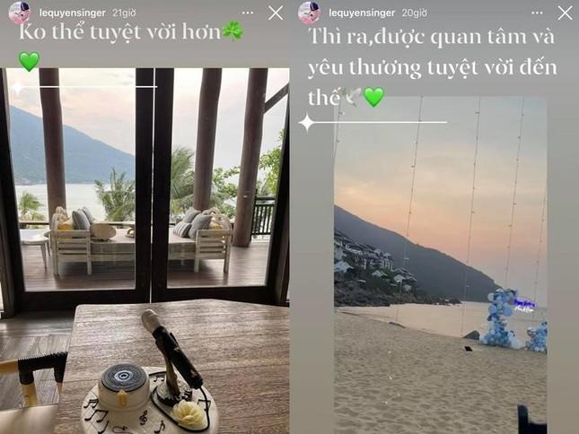 Lệ Quyên đón sinh nhật tuổi 40 sớm bên Lâm Bảo Châu, có cả màn bắn pháo hoa ngôn tình ảnh 4