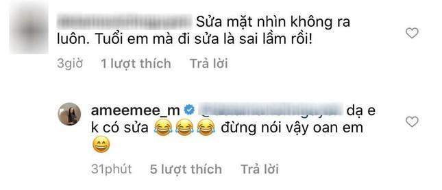 Liên tục bị netizen nghi ngờ chuyện phẫu thuật thẩm mỹ, AMEE chính thức lên tiếng ảnh 3