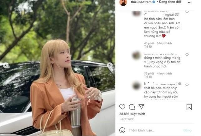 """Sơn Tùng vừa trở lại MXH, netizen phát hiện """"Thiều Bảo Trâm đi chơi riêng với Tuấn Trần""""? ảnh 1"""