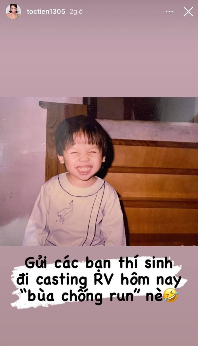 """Touliver """"khóc thét"""" khi Tóc Tiên tặng """"bùa chống run"""" cho thí sinh casting """"Rap Việt""""  ảnh 3"""