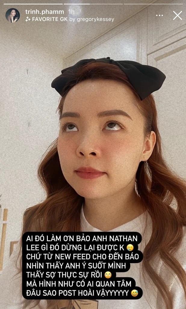 """Hết Cao Thái Sơn, Nathan Lee lại """"tuyên chiến"""" với Xuân Lan và YouTuber Trinh Phạm ảnh 4"""