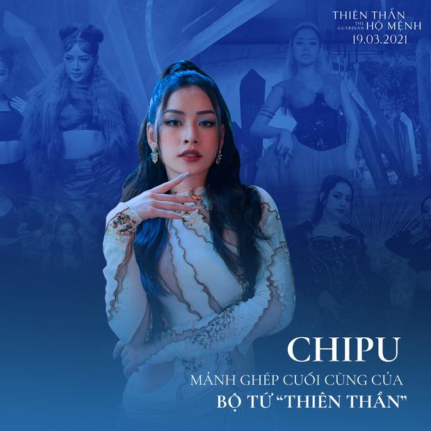 """Netizen tranh cãi sau khi Chi Pu lên tiếng về vai trò của cô trong """"Thiên Thần Hộ Mệnh"""" ảnh 1"""