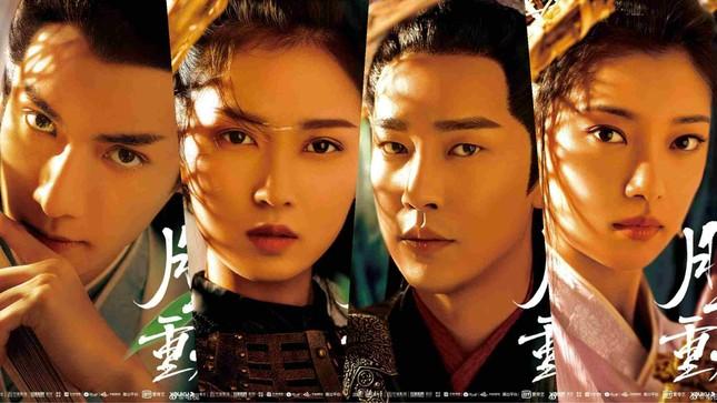 """Phim mới của La Vân Hy - """"Nguyệt Thượng Trọng Hỏa"""" tung poster các nhân vật ảnh 1"""