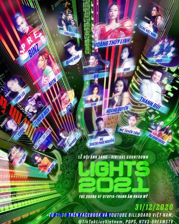 """""""Cuộc đua"""" đêm nhạc Countdown 2021 ở các vùng miền: Nổi bật từ sân khấu đến khách mời ảnh 3"""