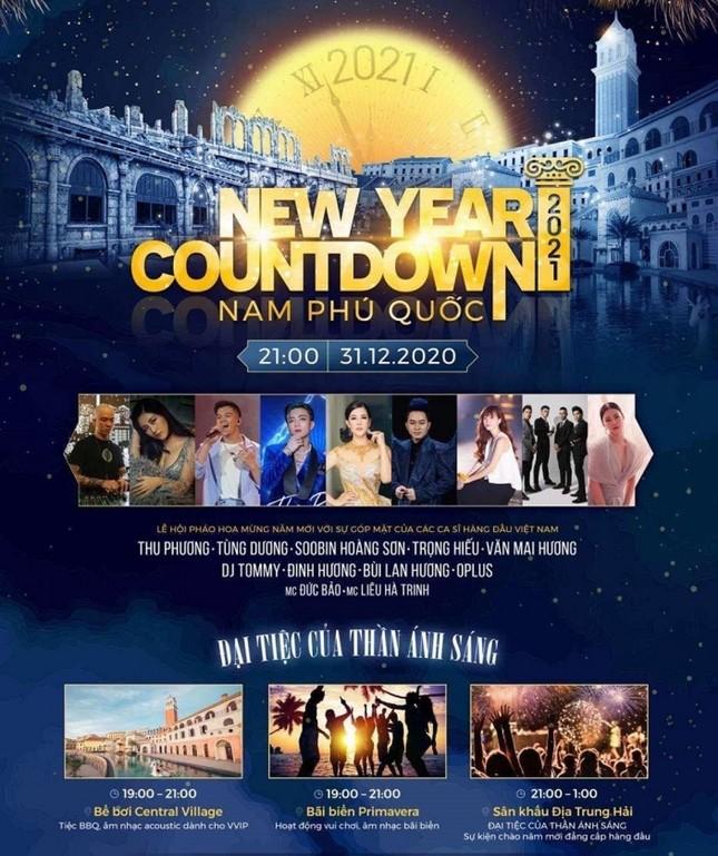 """""""Cuộc đua"""" đêm nhạc Countdown 2021 ở các vùng miền: Nổi bật từ sân khấu đến khách mời ảnh 5"""