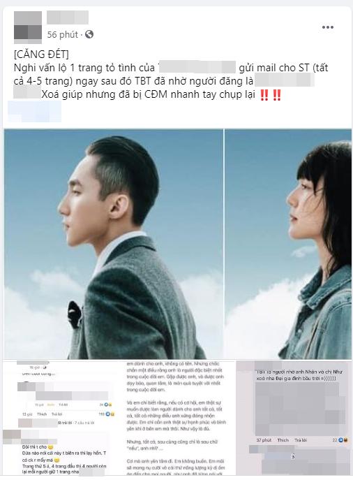 Giữa tin đồn tình cảm, netizen xôn xao với email tỏ tình được cho là gửi đến Sơn Tùng? ảnh 1