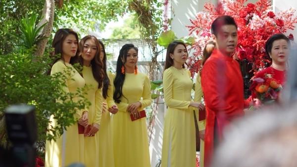 Đám cưới của Primmy Trương - Phan Thành: Đưa đón bằng siêu xe, phù dâu là Hoa hậu ảnh 4