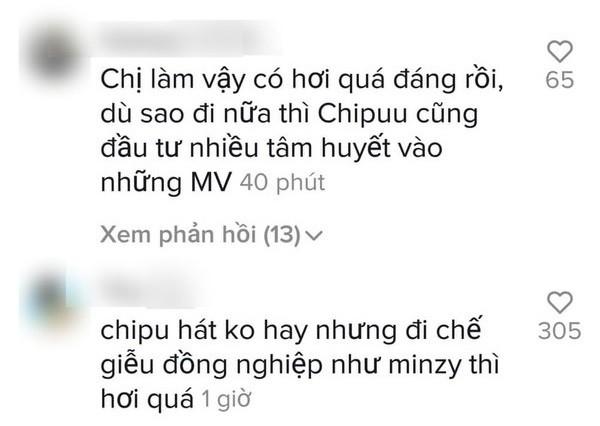 Hòa Minzy nhái giọng Chi Pu hát chênh phô gây cười, fan hai nhà khẩu chiến căng thẳng ảnh 4