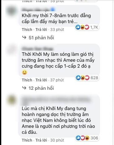 """Anti-fan tiếp tục cố tình gây hấn gọi Khởi My là """"ca sĩ hội chợ"""", giọng hát bắt chước AMEE ảnh 3"""