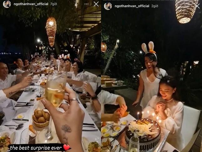 Sao Việt chúc mừng sinh nhật Ngô Thanh Vân, nhắc khéo đến bạn trai tin đồn: V-Biz sắp có đám cưới? ảnh 1