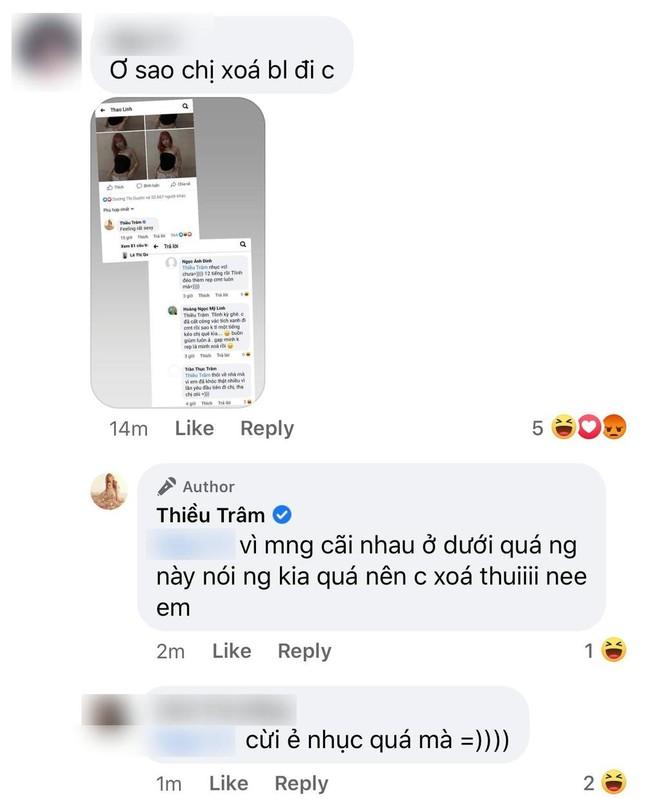 Tlinh phản ứng ra sao khi Thiều Bảo Trâm phải xóa bình luận vì bị anti-fan tấn công? ảnh 3