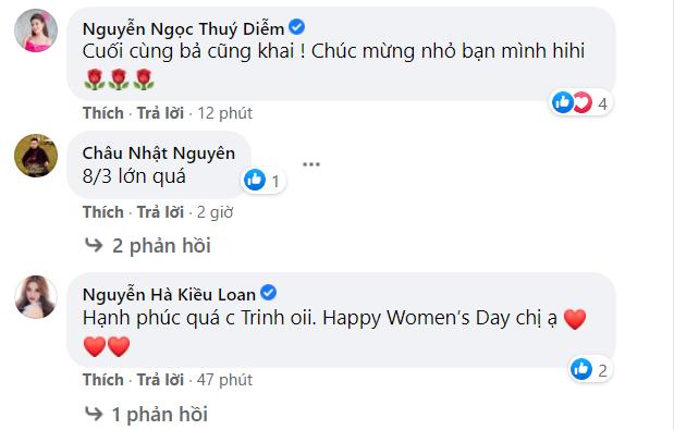 Đúng ngày 8/3, Phương Trinh Jolie gây bất ngờ khi công khai hẹn hò diễn viên Lý Bình ảnh 2