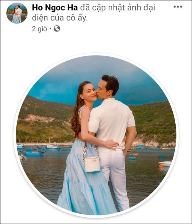 Hồ Ngọc Hà lần đầu tiên đổi ảnh đại diện chụp cùng Kim Lý dù đã bên nhau 3 năm ảnh 1